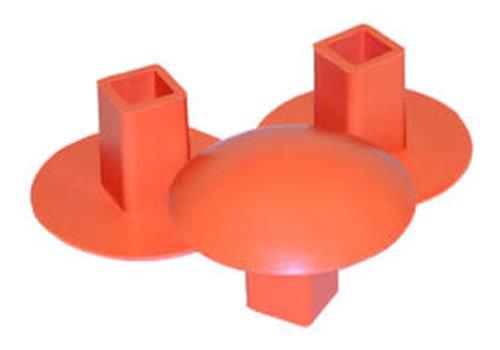 Champro Molded Rubber Base Plug