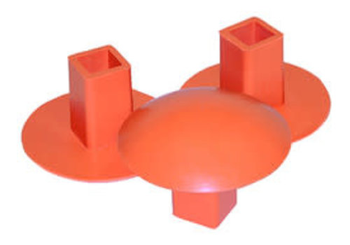 Champro Sports Molded Rubber Base Plug