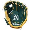 "Wilson Wilson A200 Oakland Athletics 10"" Tee Ball Glove Right Hand Throw"