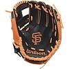 "Wilson A200 San Francisco Giants 10"" Tee Ball Glove Right Hand Throw"