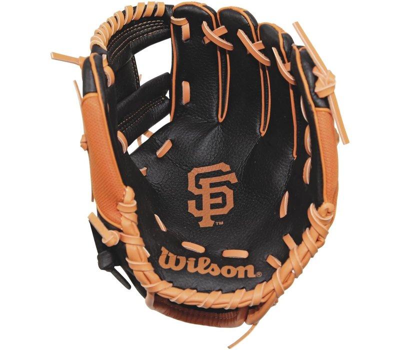 "A200 San Francisco Giants 10"" Tee Ball Glove Right Hand Throw"