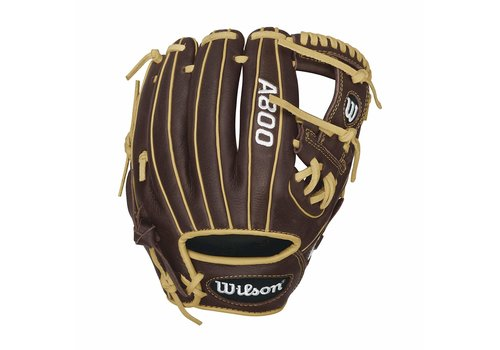 "Wilson A800 Showtime 11.5"" Infield Baseball Glove"