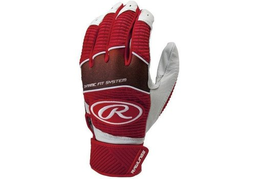 Rawlings Workhorse Youth Baseball Batting Gloves
