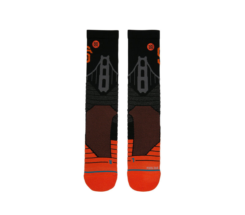 Giants Bridge Crew Socks