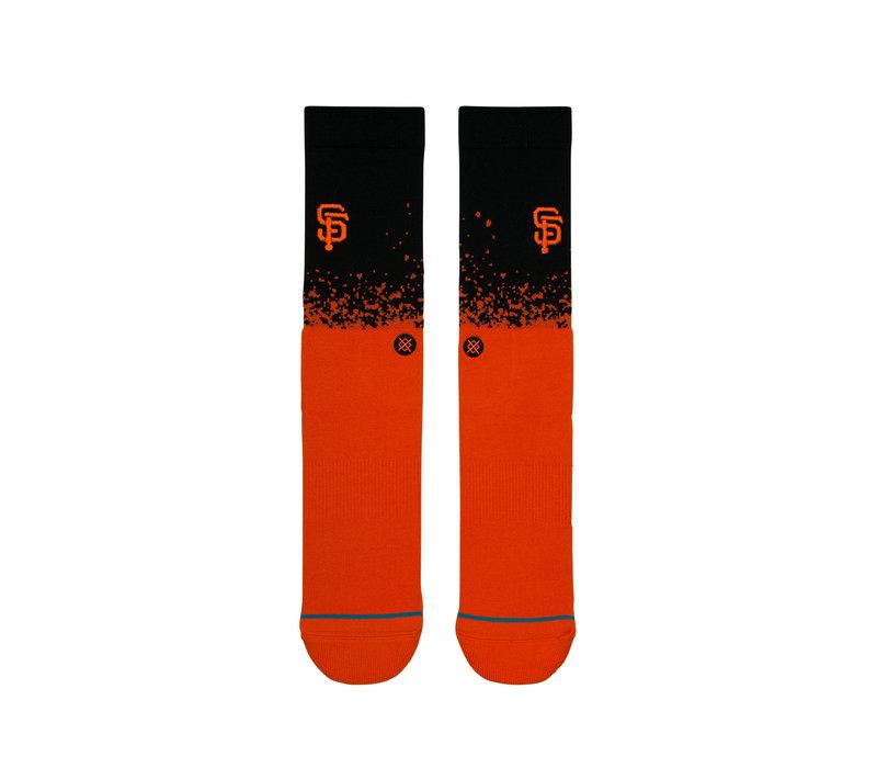 Giants Fade Crew Socks