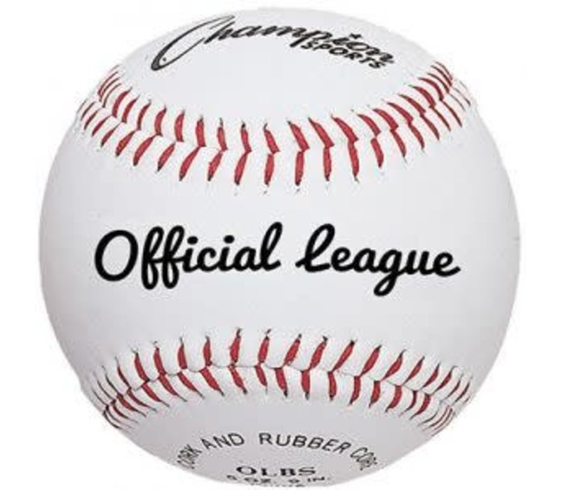 OLBXX Leather Practice Baseballs, Dz.