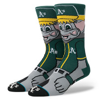 Stomper A's Socks