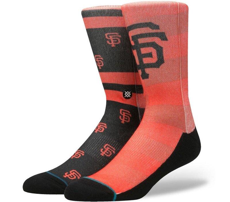 Giants Splatter Socks