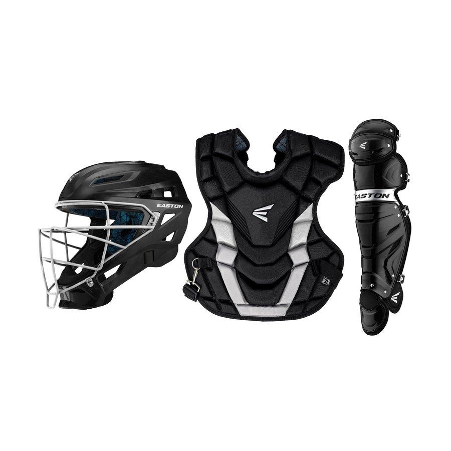 Intermediate Gametime Catcher's Kit - Black/Silver