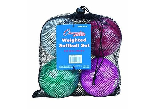 Champion Weighted Softballs