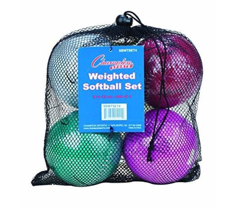 Weighted Softballs