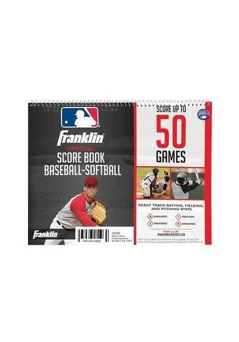 Franklin Official Score Book Baseball-Softball