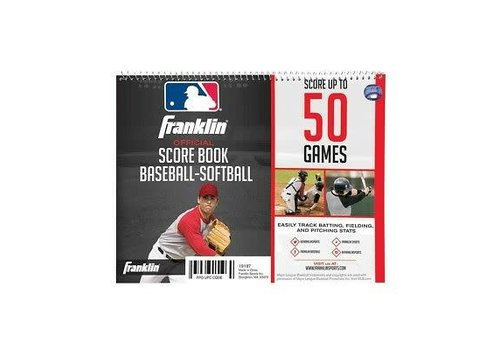 Franklin Official Score Book Baseball-Softball