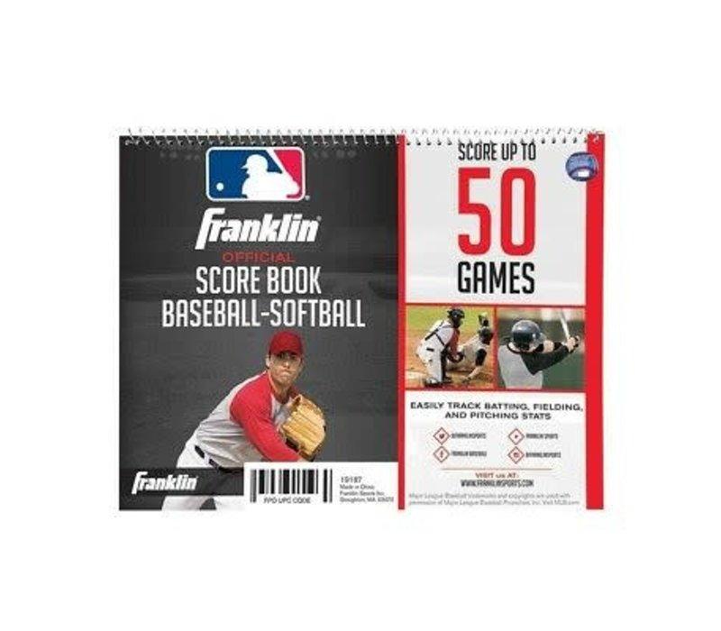 Official Score Book Baseball-Softball