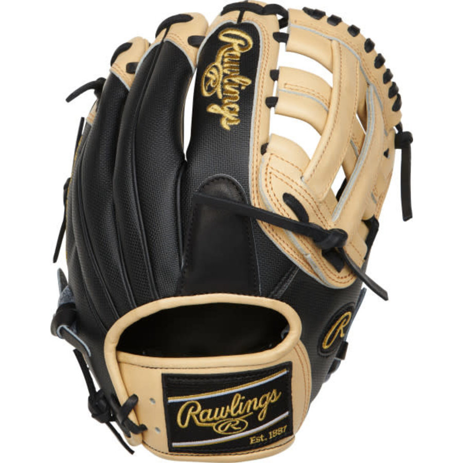 """Rawlings Heart of the Hide 11.75"""" Infield Baseball Glove Crawford PRO205-6BCSS"""