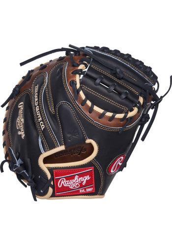 "Rawlings Heart of the Hide 33"" Catcher's Baseball Mitt PROCM33BSL"