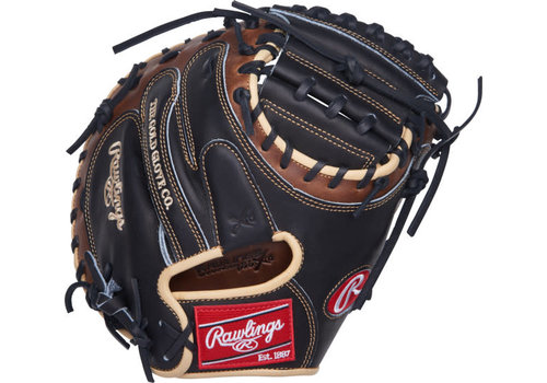 "Rawlings Heart of the Hide 33"" Catcher's Baseball Mitt PROCM33BSL"