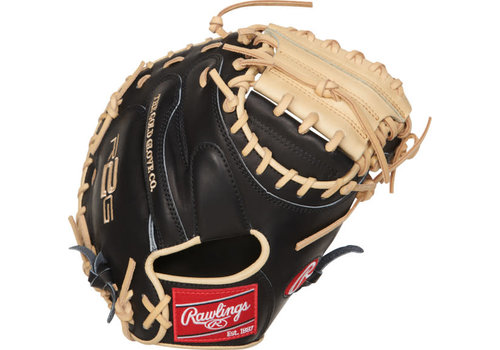 """Rawlings Heart of the Hide R2G 33"""" Catcher's Baseball Mitt PRORCM33-23BC"""