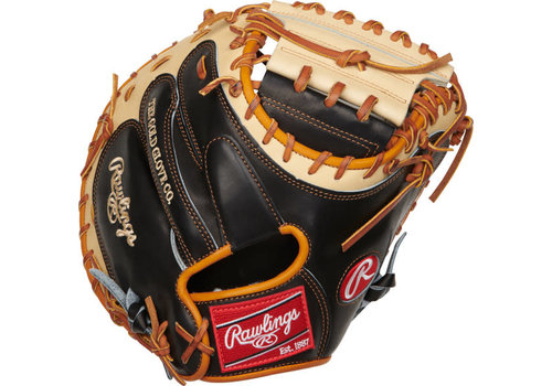 "Rawlings Pro Preferred 33"" Catcher's Baseball Mitt PROSCM33BCT"