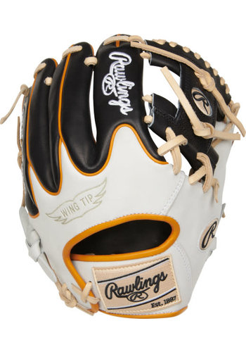 "Rawlings Heart of the Hide R2G 11.50"" Infield Baseball Glove PROR204W-2B"