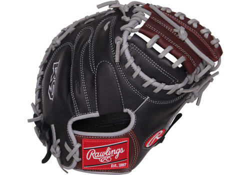 "Rawlings R9 Series 32.50"" Youth Catcher's Baseball Mitt"