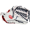 """Rawlings Liberty Advanced 12.5"""" Infield/Outfield/Pitcher's Fastpitch Glove"""