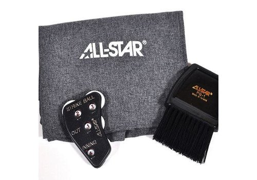 All-Star Deluxe Baseball Umpires Kit - Grey