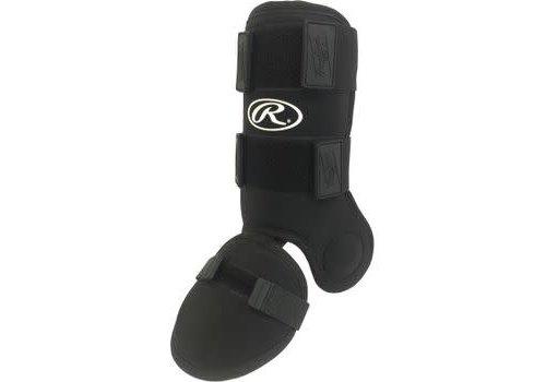 Rawlings Hitter's Leg Guard - OSFA Black