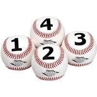 Diamond Numbered Training Baseballs - 1 Dozen