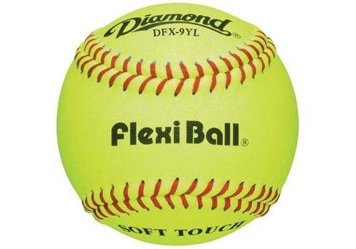 Diamond DFX-9YL Baseballs - 1 Dozen