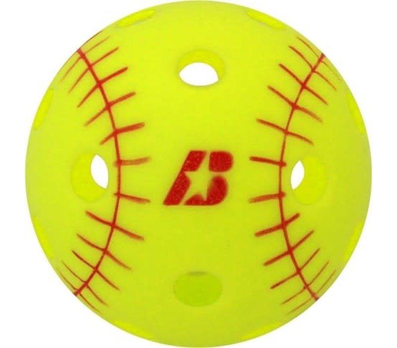 Training Softball Wiffle Balls - 1 Dozen