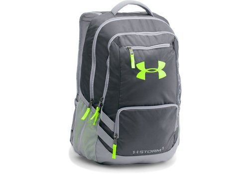 Under Armour Hustle 2 Backpack - Neon/Black