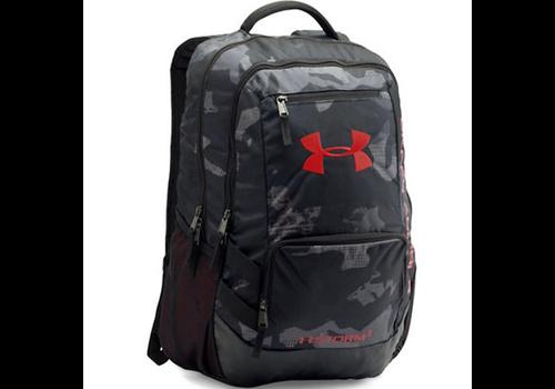 Under Armour Hustle 2 Backpack - Black/Red