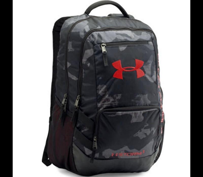 Hustle 2 Backpack - Black/Red