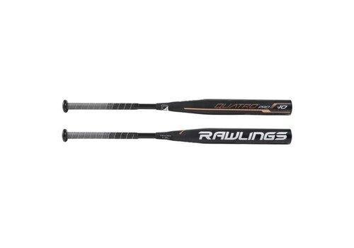 Rawlings 2019 Quatro Pro Fastpitch Bat (-10)