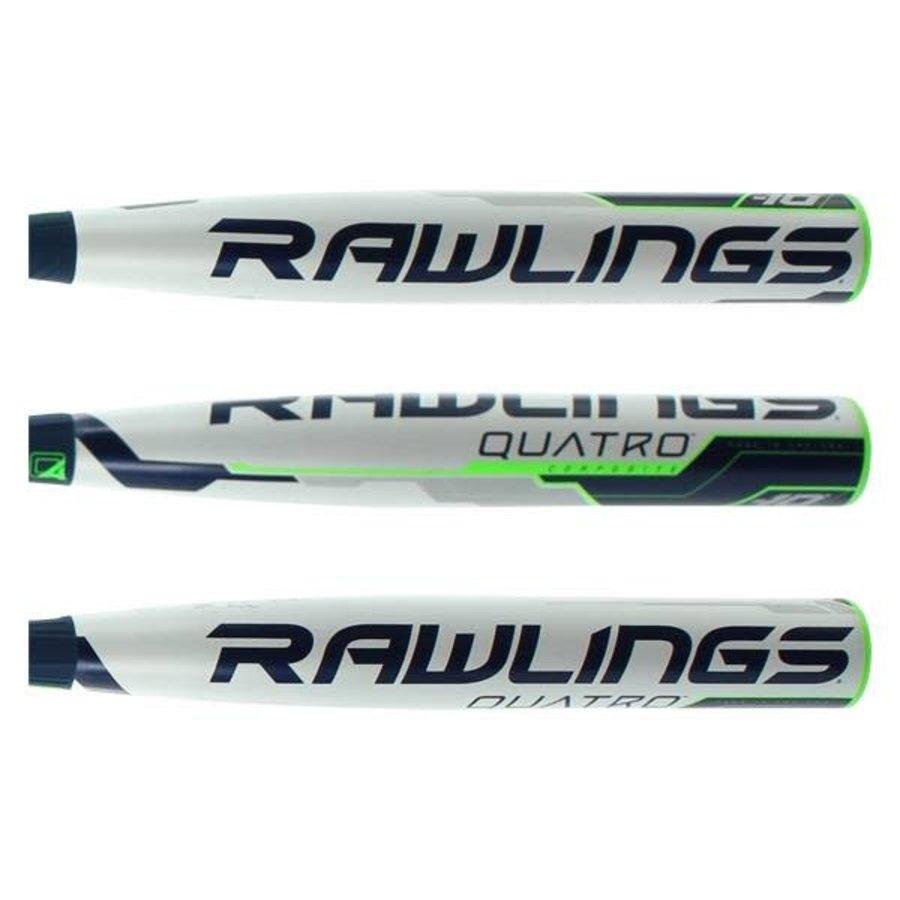 Rawlings 2018 Quatro Fastpitch Bat (-10)