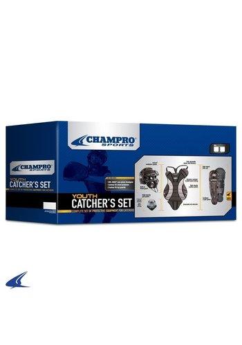 Champro Youth Catcher's Set (Black)