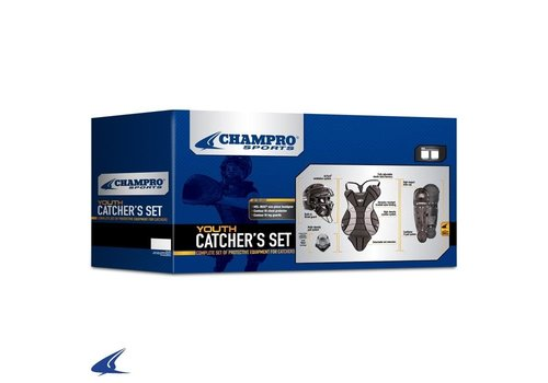 Champro Sports Youth Catcher's Set (Black)