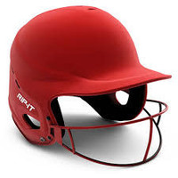 Rip-It Vision Pro Softball Helmet - Red - XL