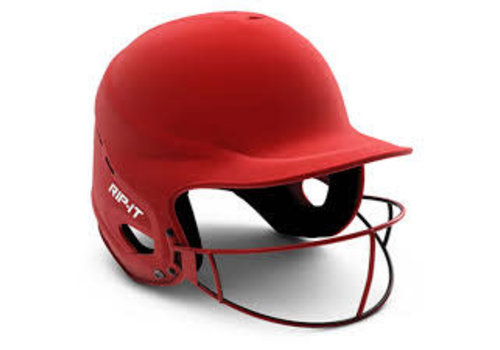 Rip-It Vision Pro Softball Helmet - Red - XL