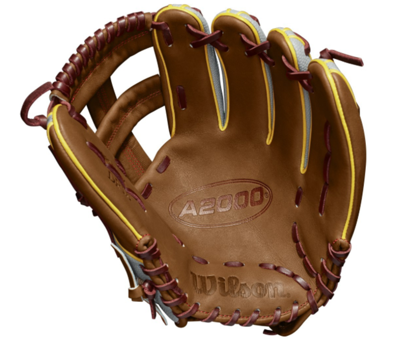 "2019 A2000 DP15 11.75"" Dustin Pedroia GM Infield Baseball Glove"