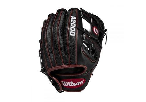 """Wilson A2000 DP15 11.5"""" SuperSkin Infield Baseball Glove"""