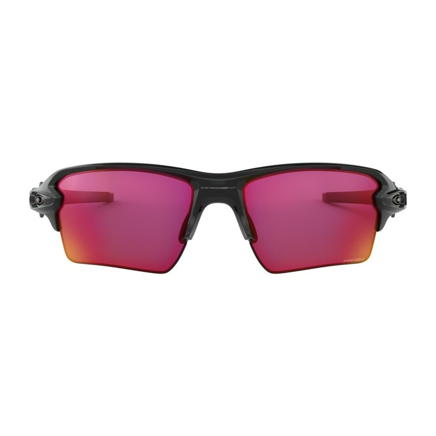 Oakley Flak 2.0 XL Prizm Field Polished Black Sunglasses