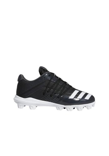 Adidas Youth Afterburner 6 MD K Black/White