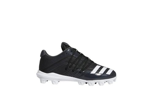 Adidas Youth Afterburner 6 MD K Black/White