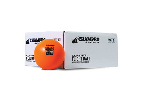 "Champro Sports 10"" Control Flight Weighted Ball (4pk)"