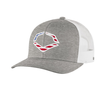 Evoshield USA Snapback Trucker Hat - Heather Grey