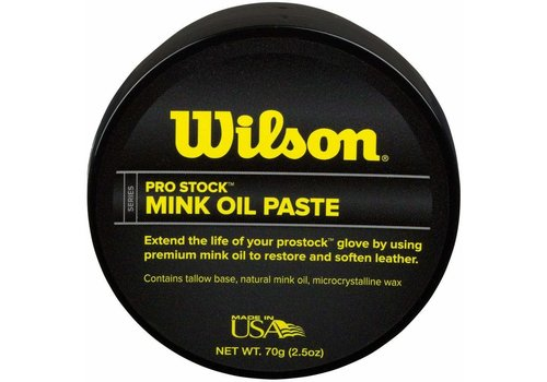 Wilson Pro Stock Mink Oil Paste