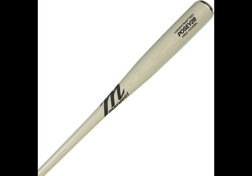 Marucci Posey28 Pro Maple Pro Model Whitewash Wood Bat