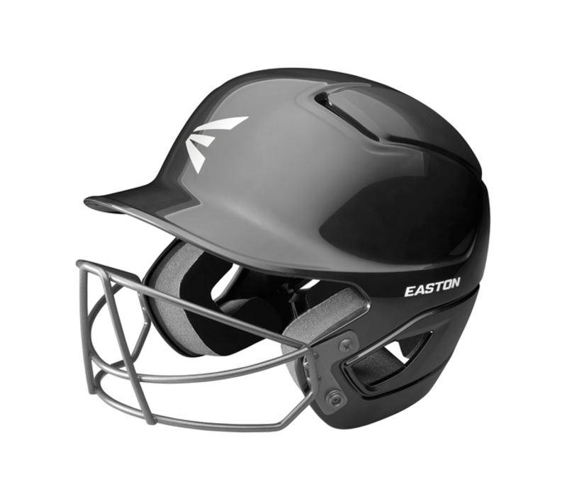 AlphaBatting  Helmet Softball Mask Black